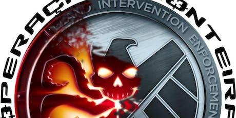 Hidra x Shield - Operação Fronteira ingressos