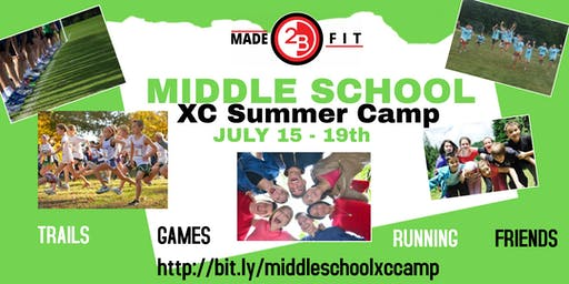 Middle School XC Summer Camp