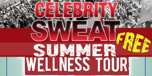 Celebrity Sweat Wellness Tour