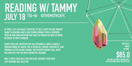 Reading with Tammy Session 3 tickets