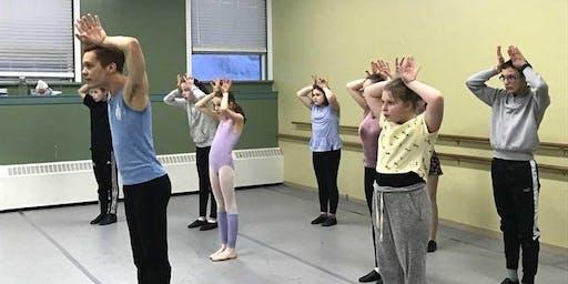 Ballet 101 with Canada's Ballet Jörgen (Ages 5-12)