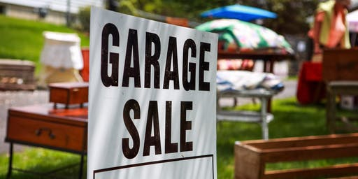 Giant Garage Sale -  Treasures from an entire netball team for sale