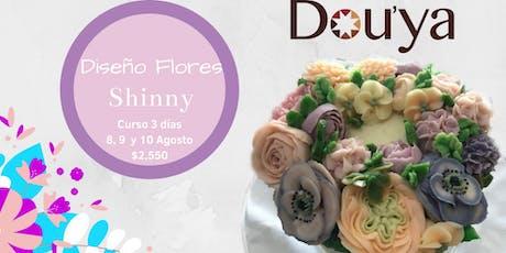 Taller Diseño de Flores Shinny boletos