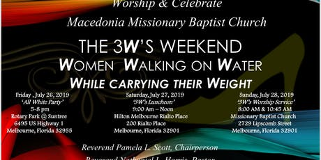 Women Who Carry Their Weight While Walking On Water tickets