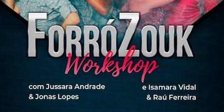 ForróZouk Dance WorkShop ingressos