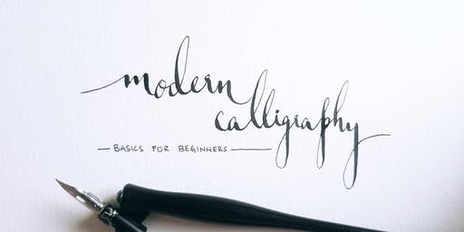 Modern Calligraphy Basics for Beginners