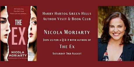 Author Talk & Book Club - August tickets