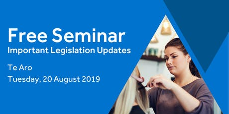 Free Seminar: Legislation updates for small businesses - Te Aro tickets