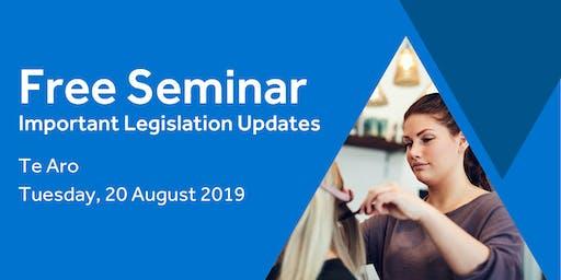 Free Seminar: Legislation updates for small businesses - Te Aro