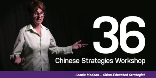The Art of Chinese Negotiation – 36 Chinese Strategies Workshop