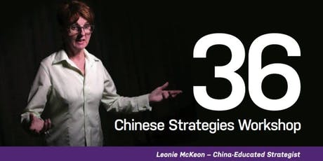 The Art of Chinese Negotiation – 36 Chinese Strategies Workshop tickets