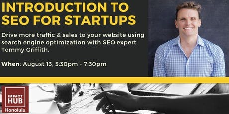 Introduction to SEO For Startups tickets