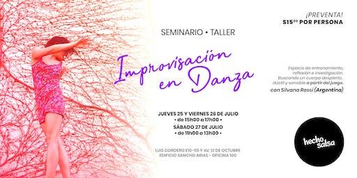 Seminario de Improvización en Danza