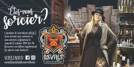 OSVALT - INSTITUT DE SORCELLERIE - Samedi 12 octobre 2019 billets