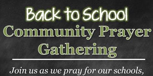 Back to School Prayer