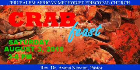 Jerusalem AME Church Crab Feast tickets