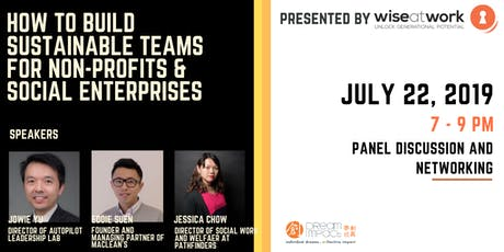 How To Build Sustainable Teams For Non-profits And Social Enterprises? tickets