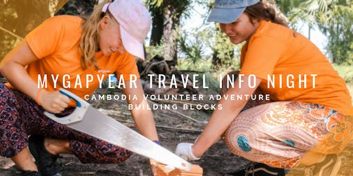 MyGapYear Info Night AUG 19 // Volunteer Adventure Cambodia