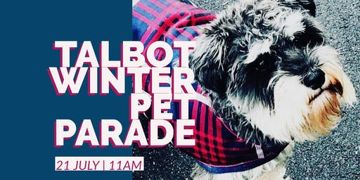 Talbot Winter Pet Parade sponsored by Talbot Farmers Market