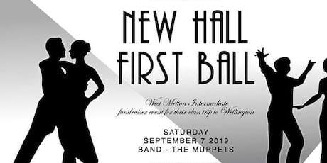 New Hall | First Ball | WMS Fundraiser tickets