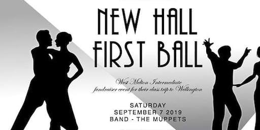 New Hall | First Ball | WMS Fundraiser
