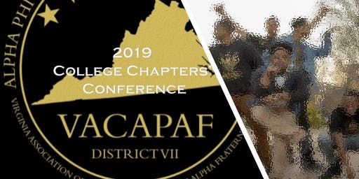 2019 VACAPAF College Chapters' Conference