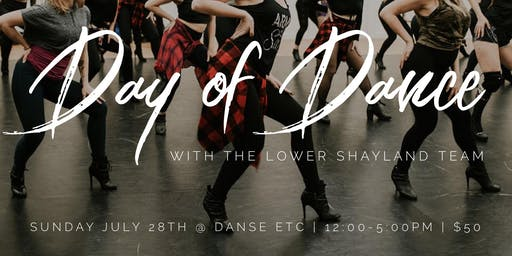 DAY OF DANCE with the Lower Shayland Team