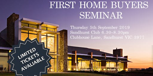 First Home Buyers Seminar
