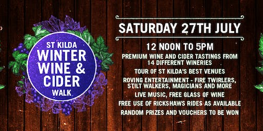 StKilda Winter Wine & Cider Walk