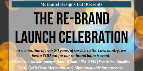 The Re-Brand Launch Celebration tickets