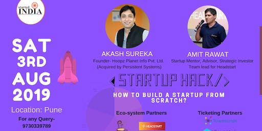 Startup Hack : How To Build A Startup From Scratch