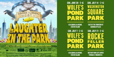 Free Laughter in the Park 2019 - Roy Wood Jr (Comedy Central) tickets