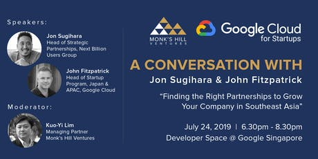 A Conversation with Jon Sugihara and John Fitzpatrick at Google tickets