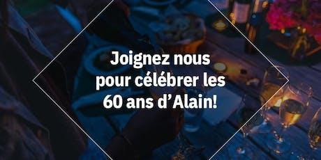 60e Anniversaire d'Alain - Surprise Party billets