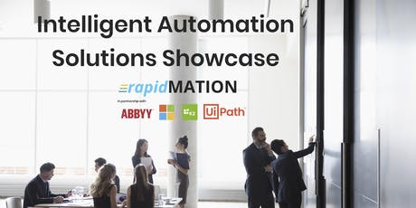The Intelligent Automation Solutions Showcase - SYDNEY tickets