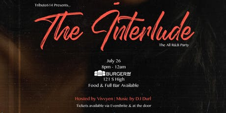 Tribute614 Presents - The Interlude (The All R&B Party) tickets