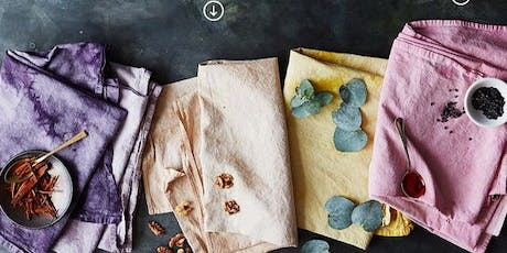 Natural dyes workshop tickets