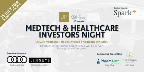 Med Tech & Healthcare Investors Night tickets