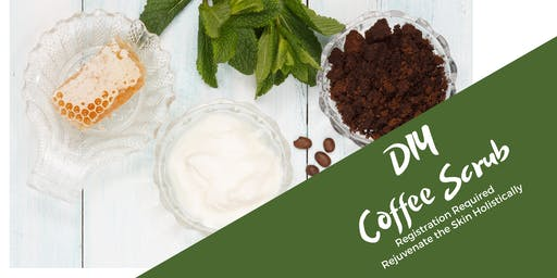 Make Your Own Coffee Scrub