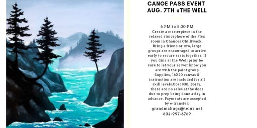 Canoe Pass Paint Event
