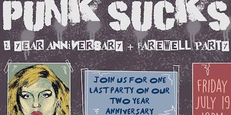 Punk Sucks Farewell Party tickets
