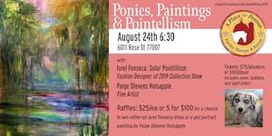 Ponies, Paintings & Pointillism