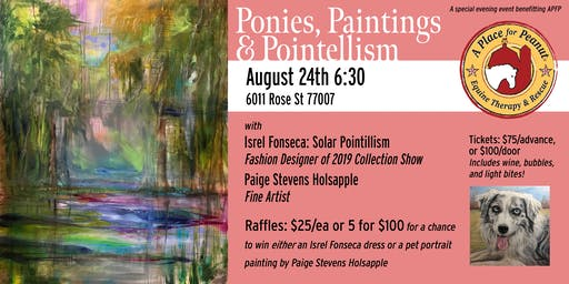 Ponies, Paintings & Pointillism