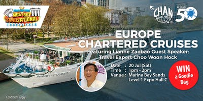Europe Chartered Cruises Featuring Lianhe Zaobao Guest Speaker: Travel Expert Choo Woon Hock