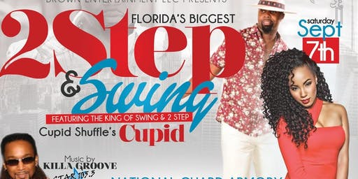 Florida's Biggest 2 Step Featuring Cupid