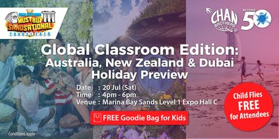 Global Classroom Edition: Australia, New Zealand & Dubai Holiday Preview
