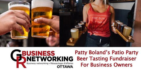 Patty's Patio Business Networking Party & Beer Tasting tickets