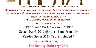 Nail Tech Brunch and Mimosa's