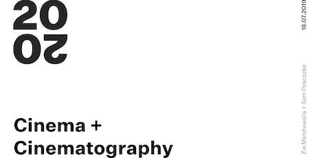 WM20/20: Cinema and Cinematography tickets