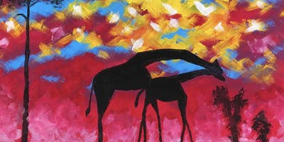 In the Savanna - Sip and Paint in Richmond (Dine in)